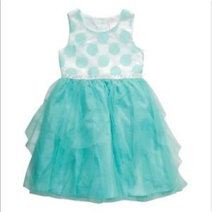 Youngland Polka Dot Tulle Party Dress size 6